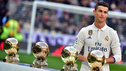 Cristiano Ronaldo Real Madrid Ballon d'Or