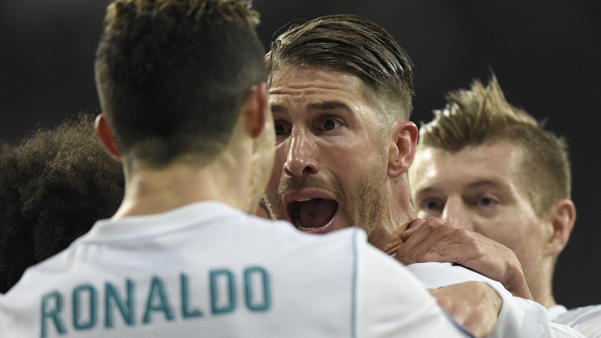 Sergio Ramos Real Madrid PSG Champions League 14022018
