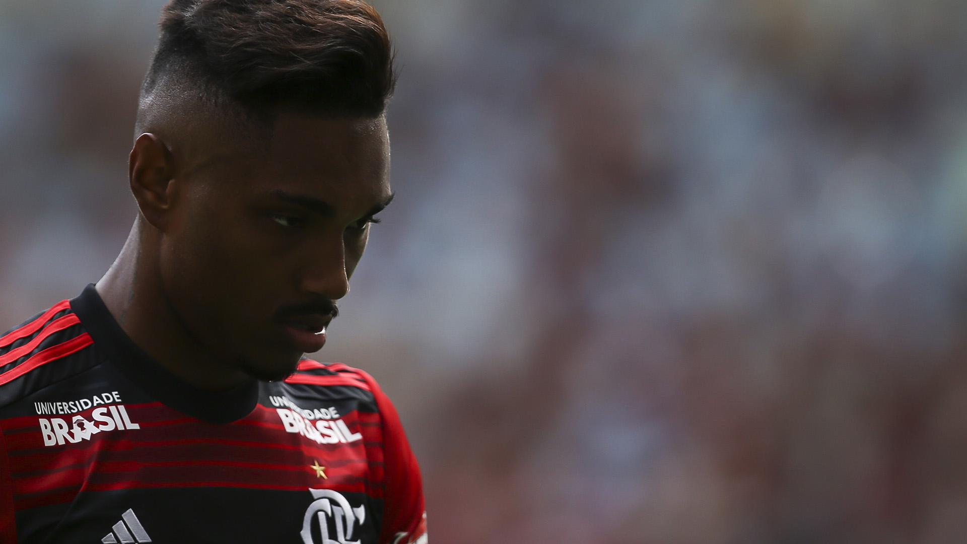 Vitinho Flamengo Santos Brasileirão Série A 15112018