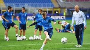 Kroos Zidane Real Madrid