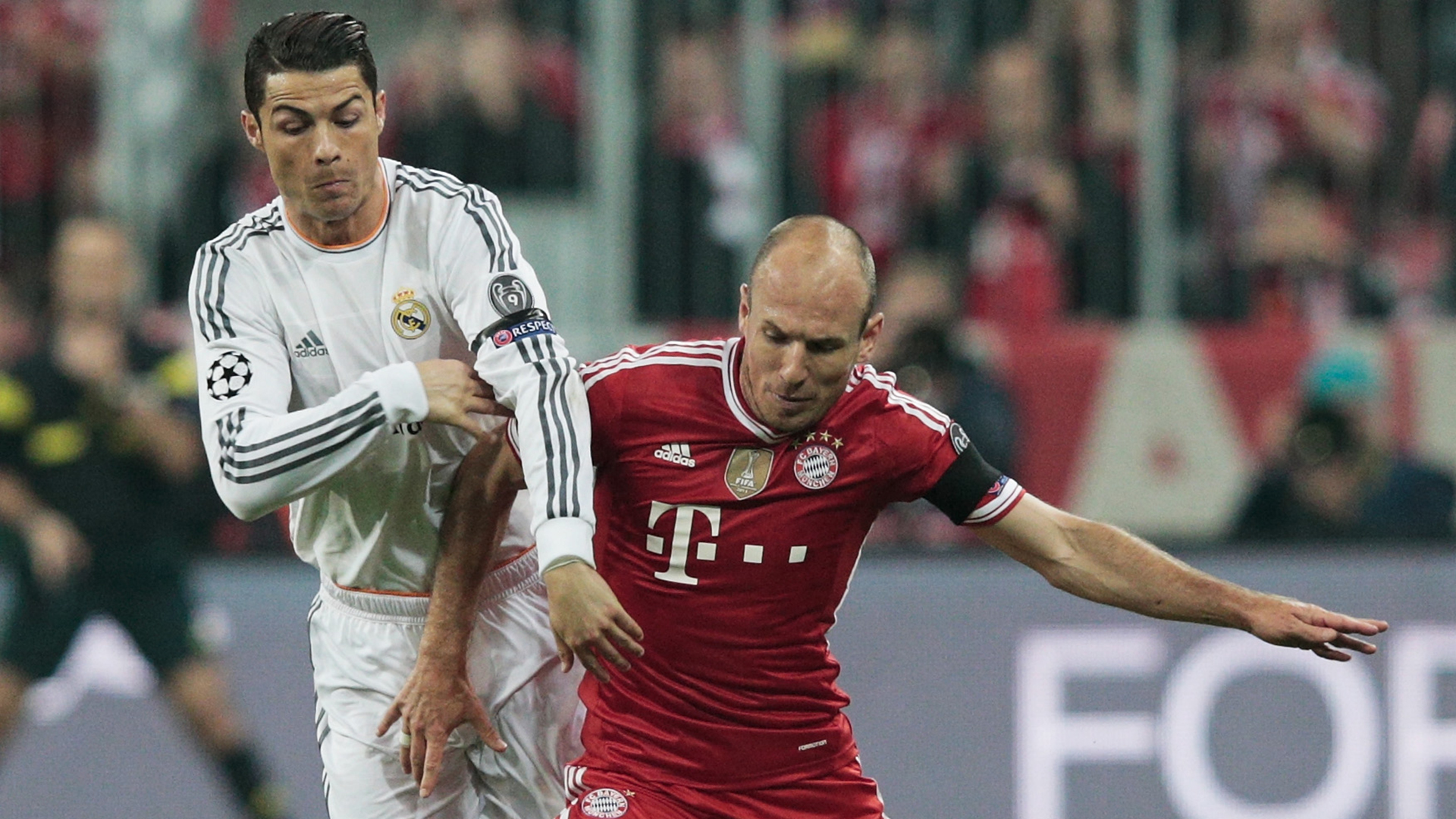 Robben looks back over Bayern and Madrid years