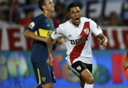 Enzo Perez River Plate Boca Juniors Supercopa Argentina 14032018