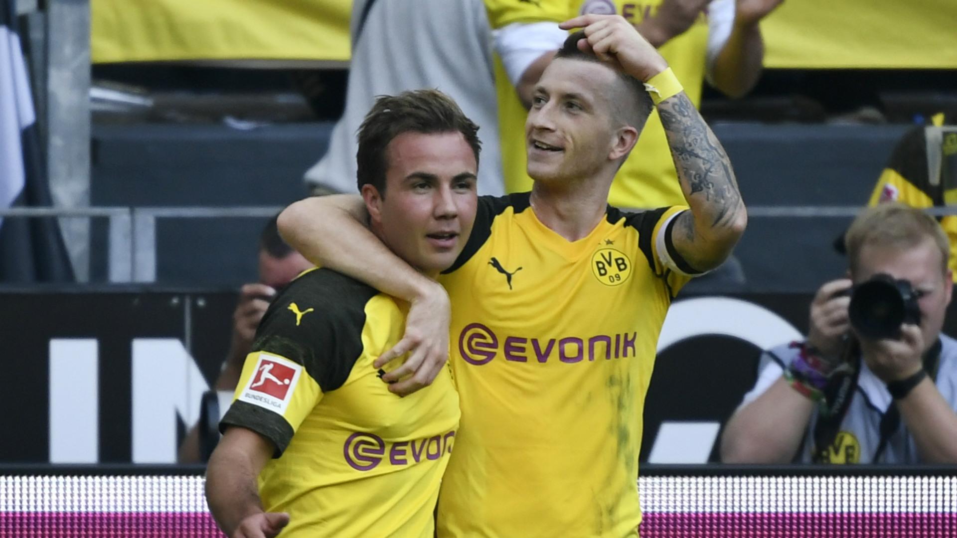 Mario Götze Marco Reus Borussia Dortmund BVB 06102018