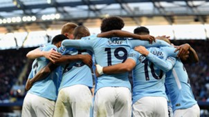 Manchester City Arsenal Jubel Sane 05112017