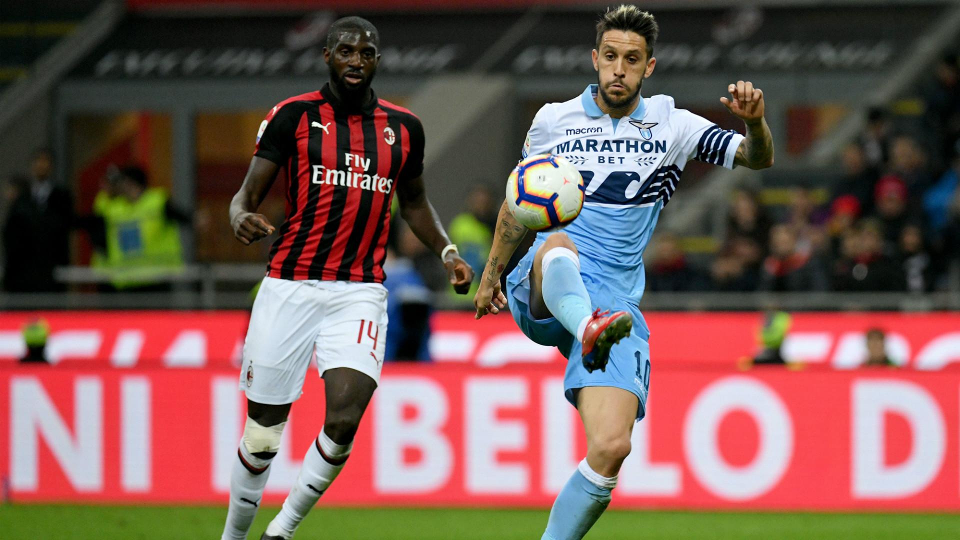 Milan Lazio Bakayoko Luis Alberto
