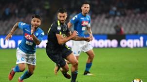 Insigne Candreva- Napoli-Inter