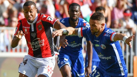 Alassane Plea Anthony Goncalves Nice Strasbourg Ligue 1 22102017