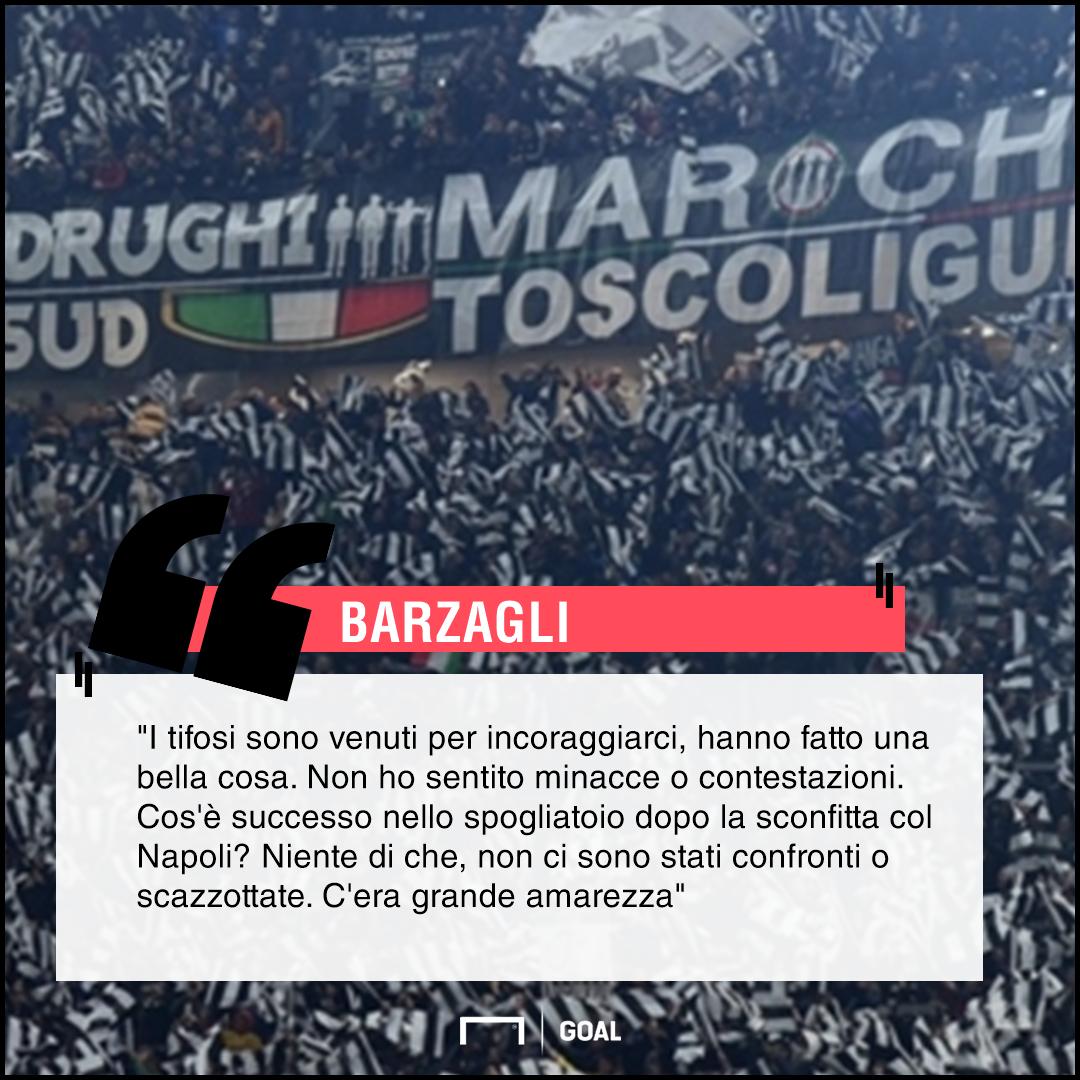 Barzagli vede Juventus:
