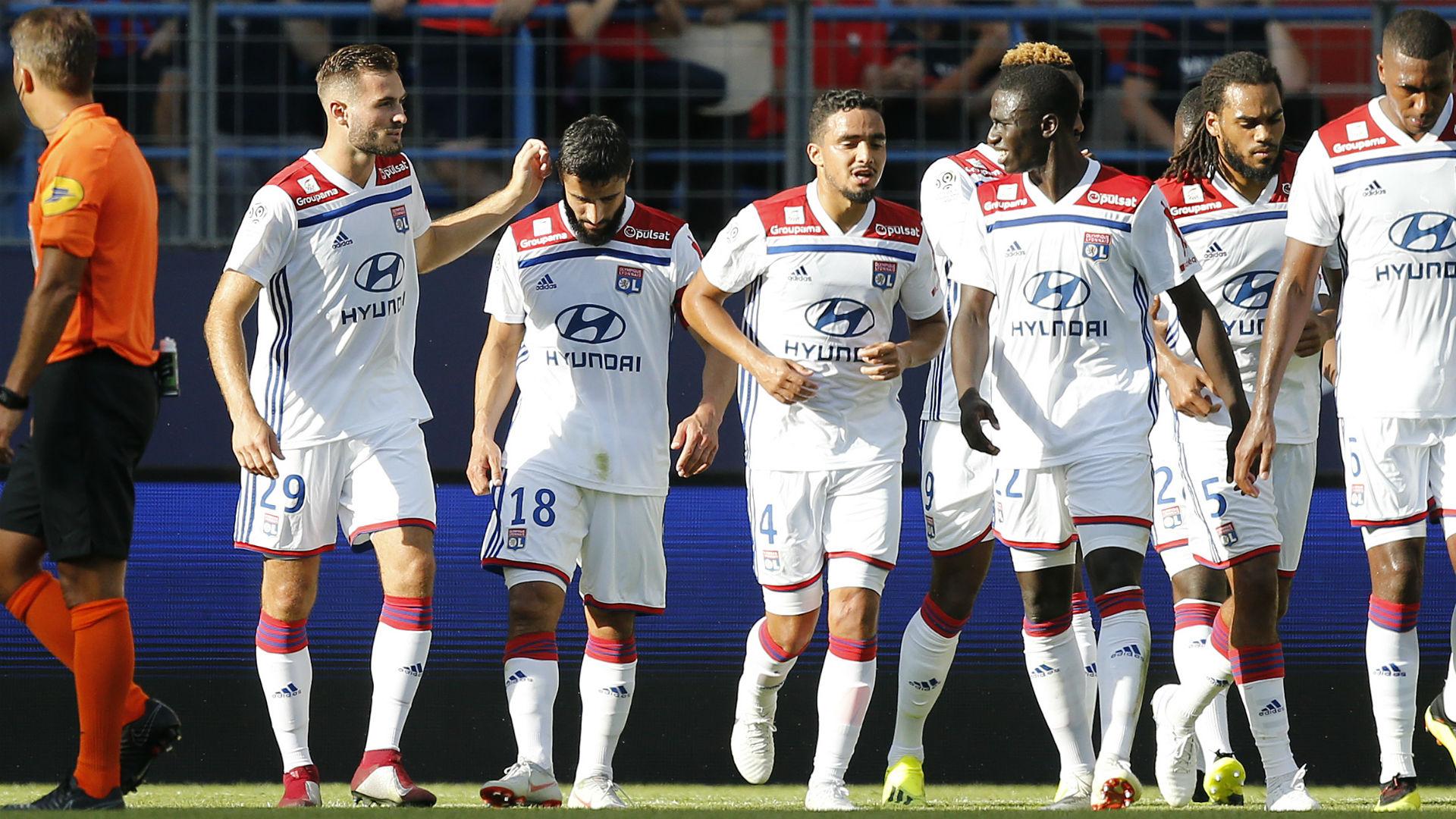 Nabil Fekir Caen Lyon Ligue 1 15092018