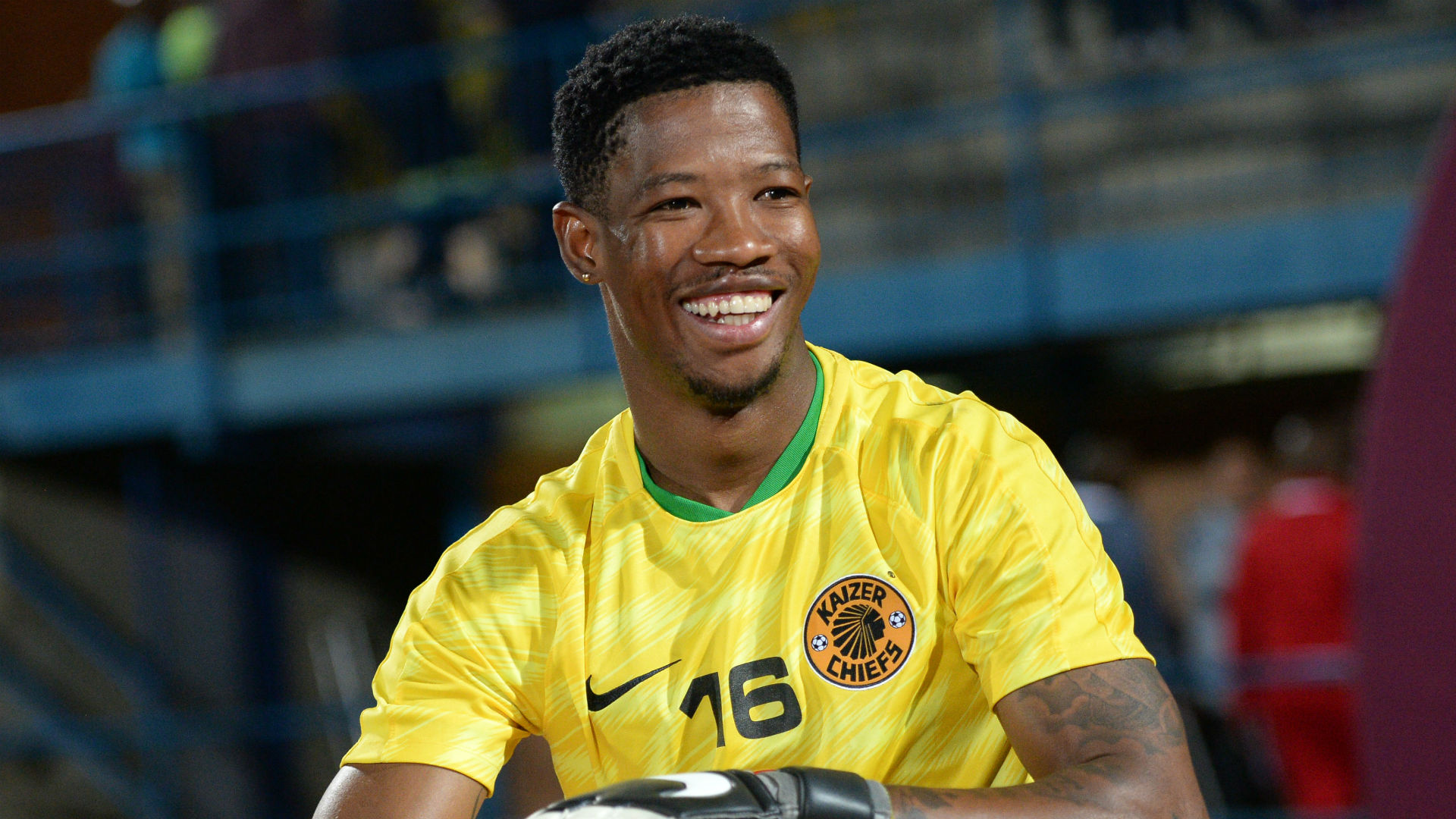 Virgil Vries of Kaizer Chiefs October 2018
