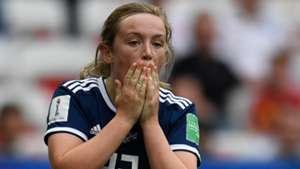 Erin Cuthbert Scotland Women World Cup 2019