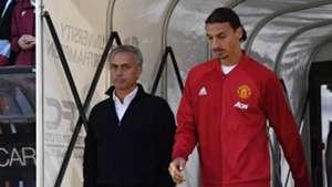 Jose Mourinho Zlatan Ibrahimovic Manchester United Premier League