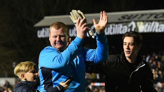 Wayne Shaw Sutton United 20022017