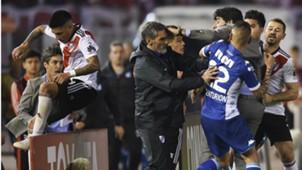 Ricardo Centurion Enzo Perez River Plate Racing Club Copa Libertadores 2018