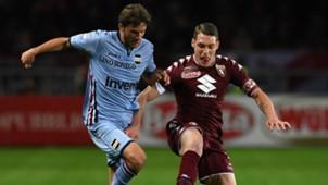 Bartosz Bereszynski Andrea Belotti Torino Sampdoria Serie A 29042017