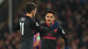 Mesut Ozil Alexis Sanchez Arsenal