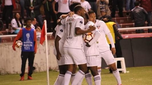 Liga Deportiva Universitaria Quito Deportivo Cali Copa Sudamericana 22082018