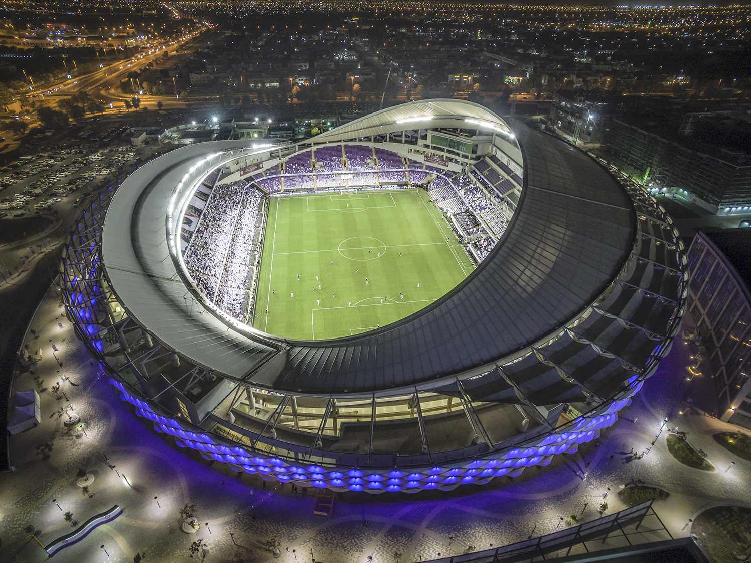 Hazza Bin Zayed Stadium Al Ain