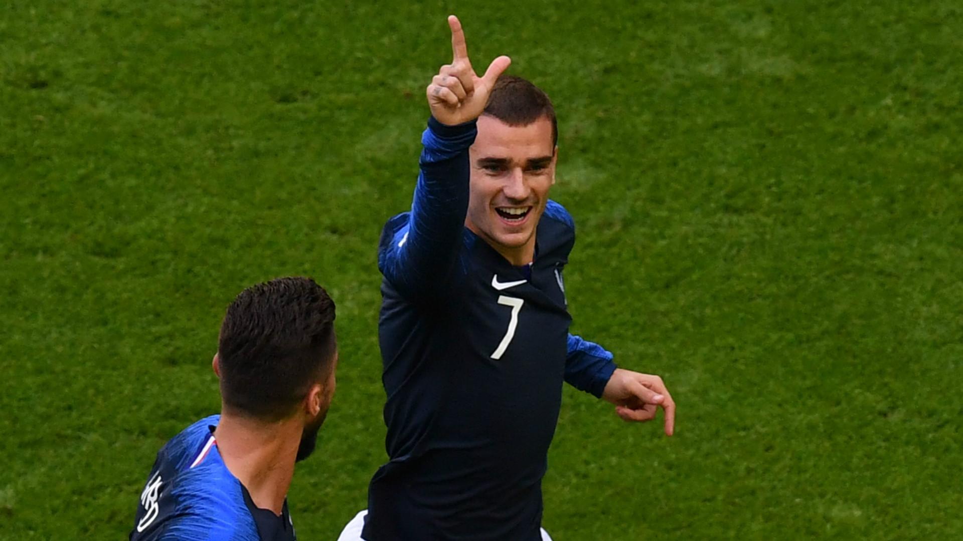 Madrid-Legionäre treffen: Frankreich bezwingt Uruguay und steht im Halbfinale