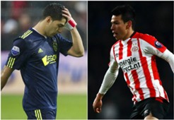 Luis Suárez Chucky Lozano Ajax PSV 030418