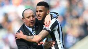 Rafa Benitez Jamaal Lascelles Newcastle