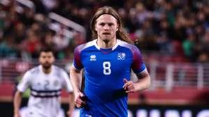 Birkir Bjarnason Iceland Mexico 03232018