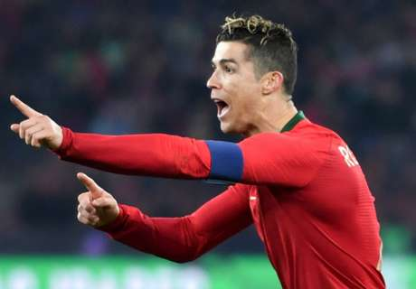 CR7 up to third on all-time international scoring list