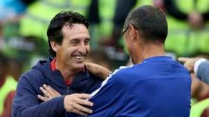 Unai Emery Maurizio Sarri Arsenal Chelsea 2018-19