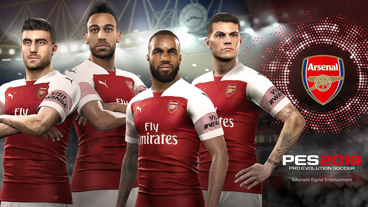 Embed only Arsenal PES 2019