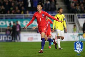 son heung min colombia