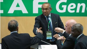 New Caf President Ahmad Ahmad
