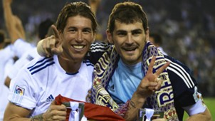sergio ramos iker casillas real madrid