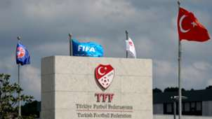 TFF building logo Turkish Football Federation