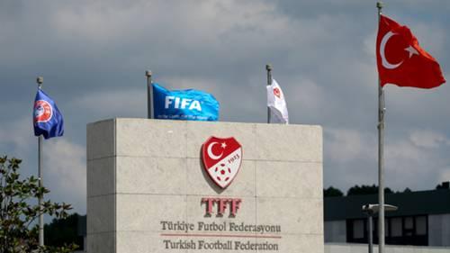 TFF building logo Turkish Football Federation