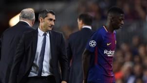 Valverde Ousmane Dembele Barcelona Juventus Turin 091217