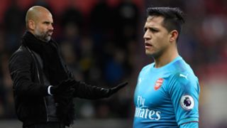 Guardiola and Alexis