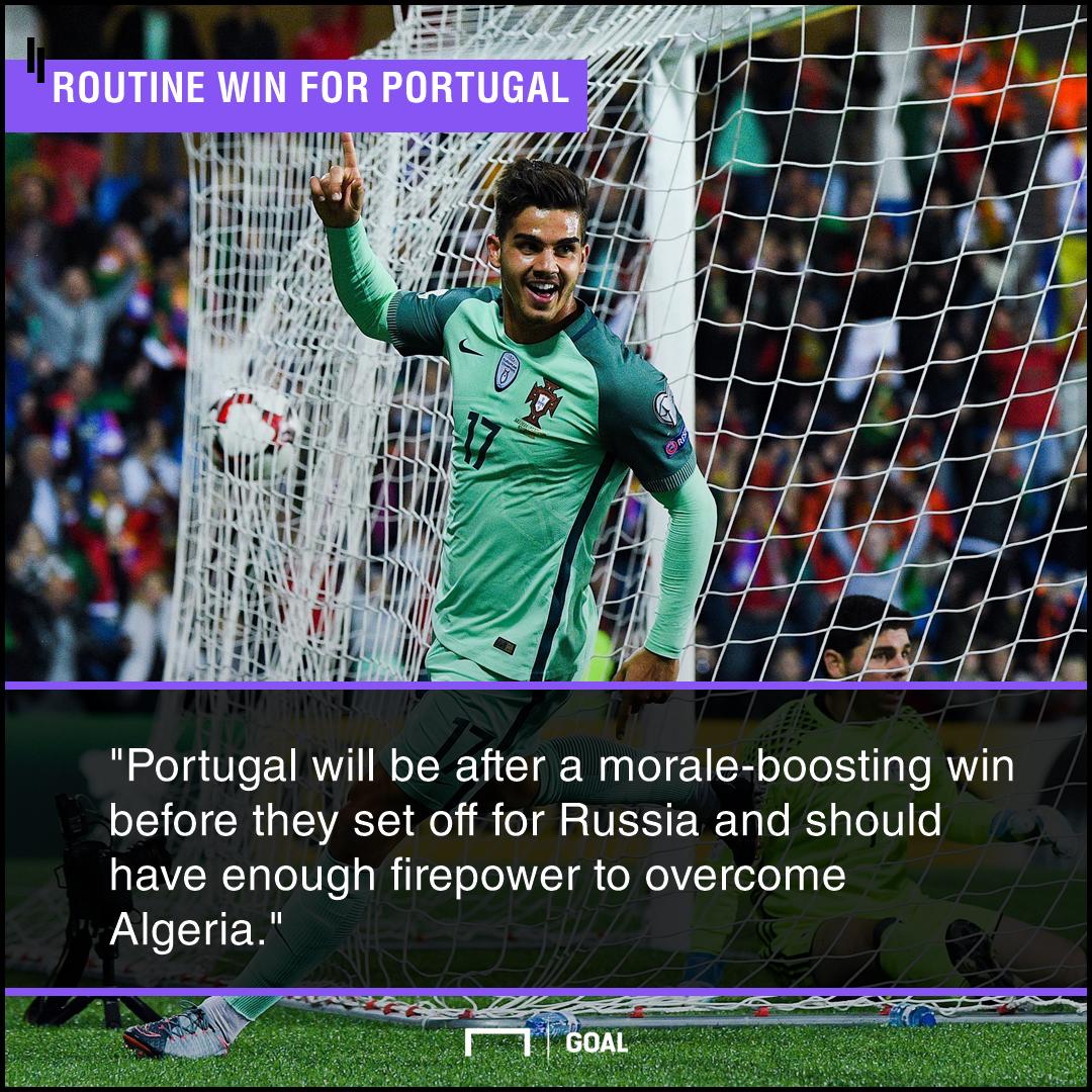 Portugal Algeria graphic