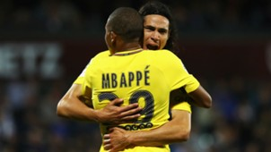Kylian Mbappe Edinson Cavani Metz PSG Ligue 1 08092017