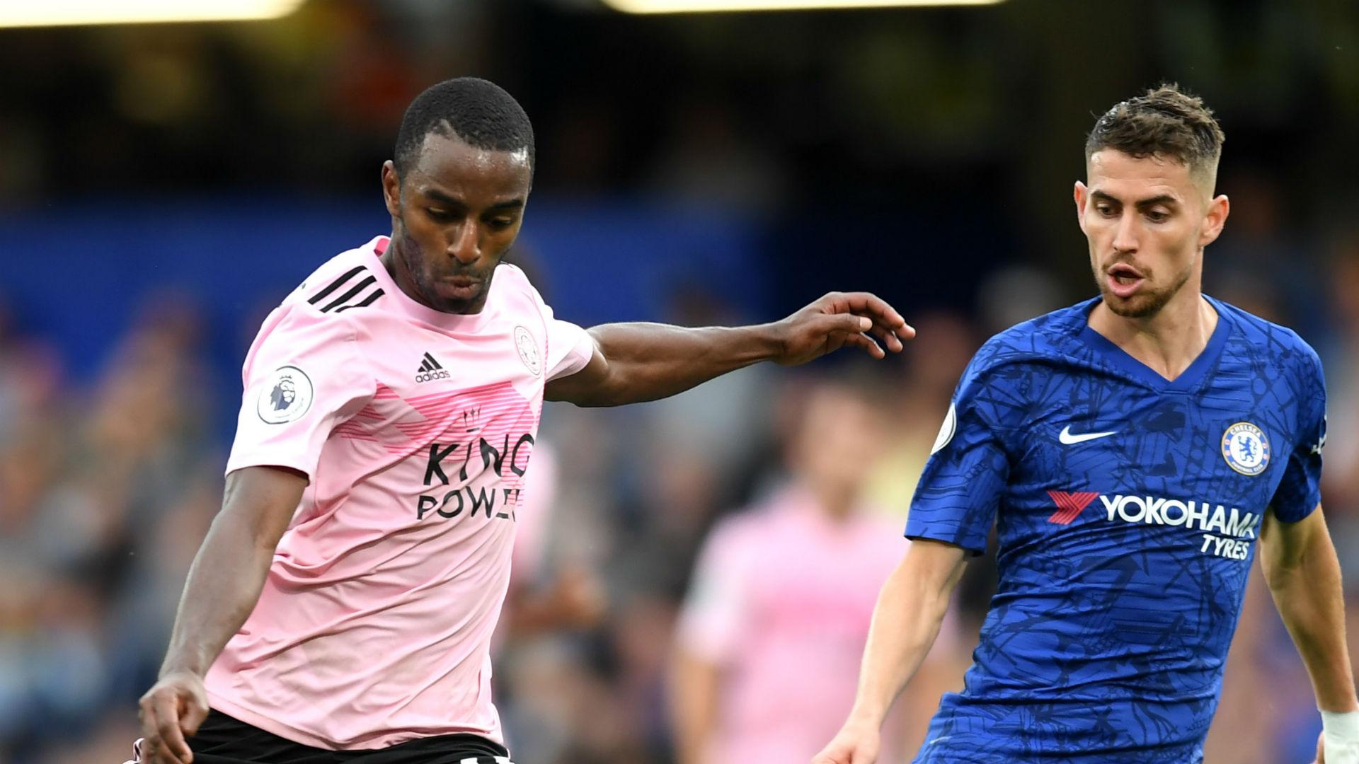 Ricardo Pereira Jorginho Chelsea Leicester City