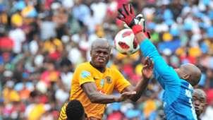 Willard Katsande, Kaizer Chiefs & Jackson Mabokgwane, Orlando Pirates, November 2018