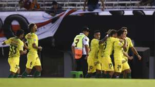 festejo Defensa y Justicia River Superliga 19012019