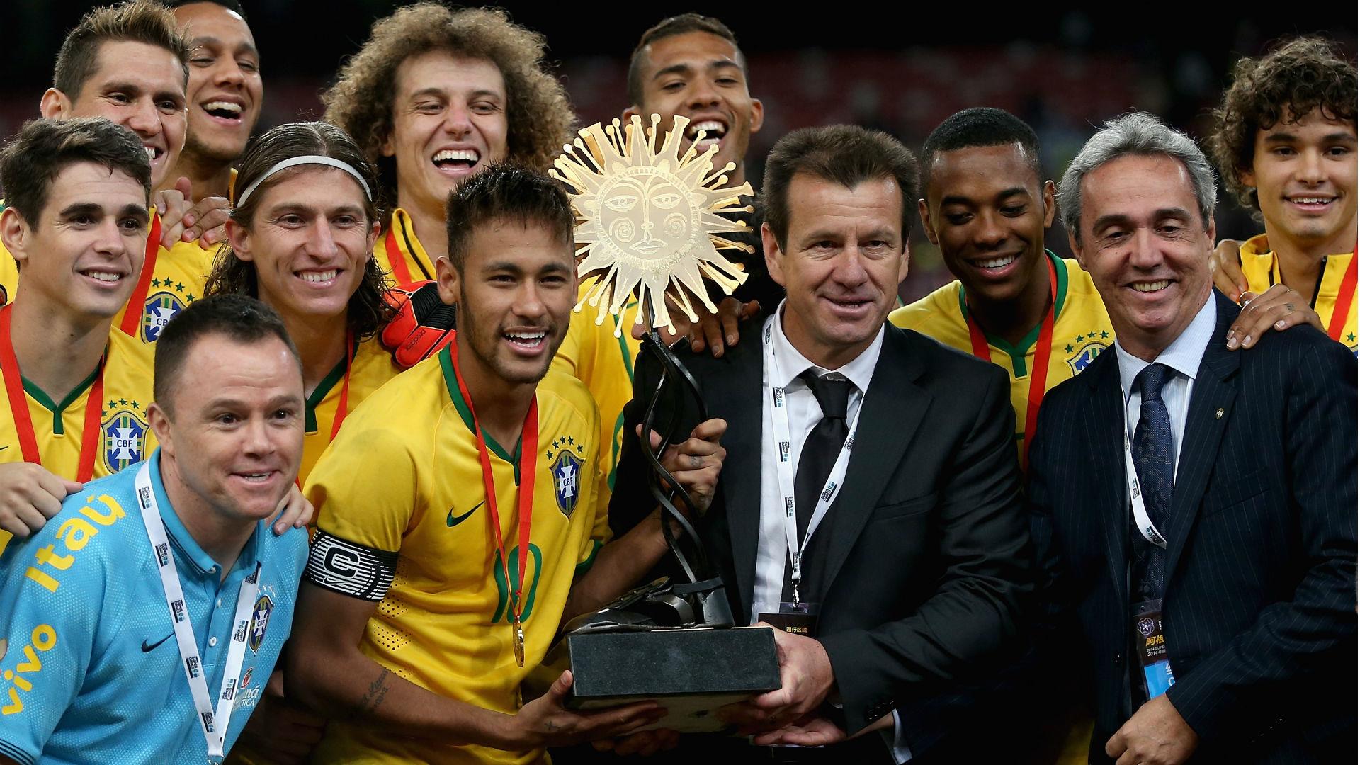 Neymar Dunga Brasil Argentina 2014 16 10 2018