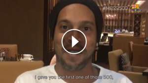 Video Ronaldinho Messi 500