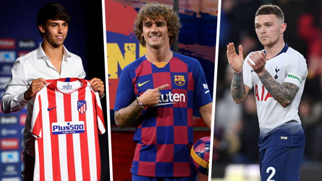 Atletico Madrid transfers: Over €300m on sales, €200m on