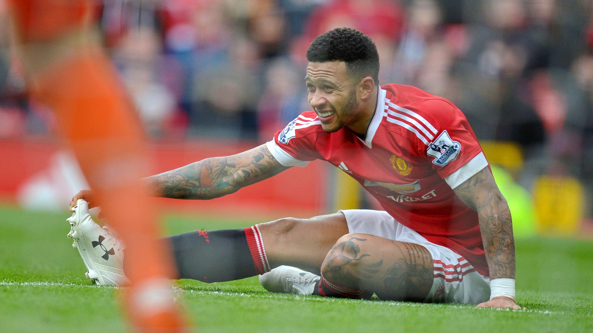 Memphis Depay Manchester United Premier League
