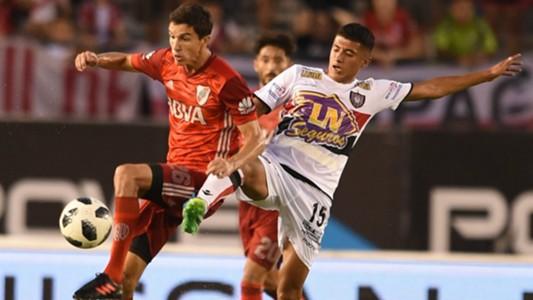 Ignacio Fernandez Joaquin Ibañez River Plate Chacarita Superliga Argentina 04032018