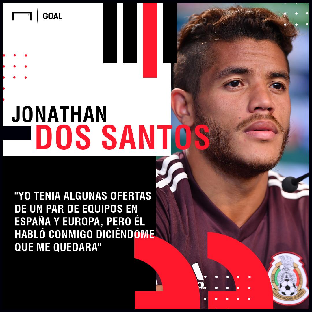 Jonathan Dos Santos México