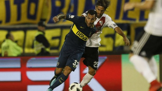 Carlos Tevez Leonardo Ponzio River  Boca Torneo de Verano 21012018