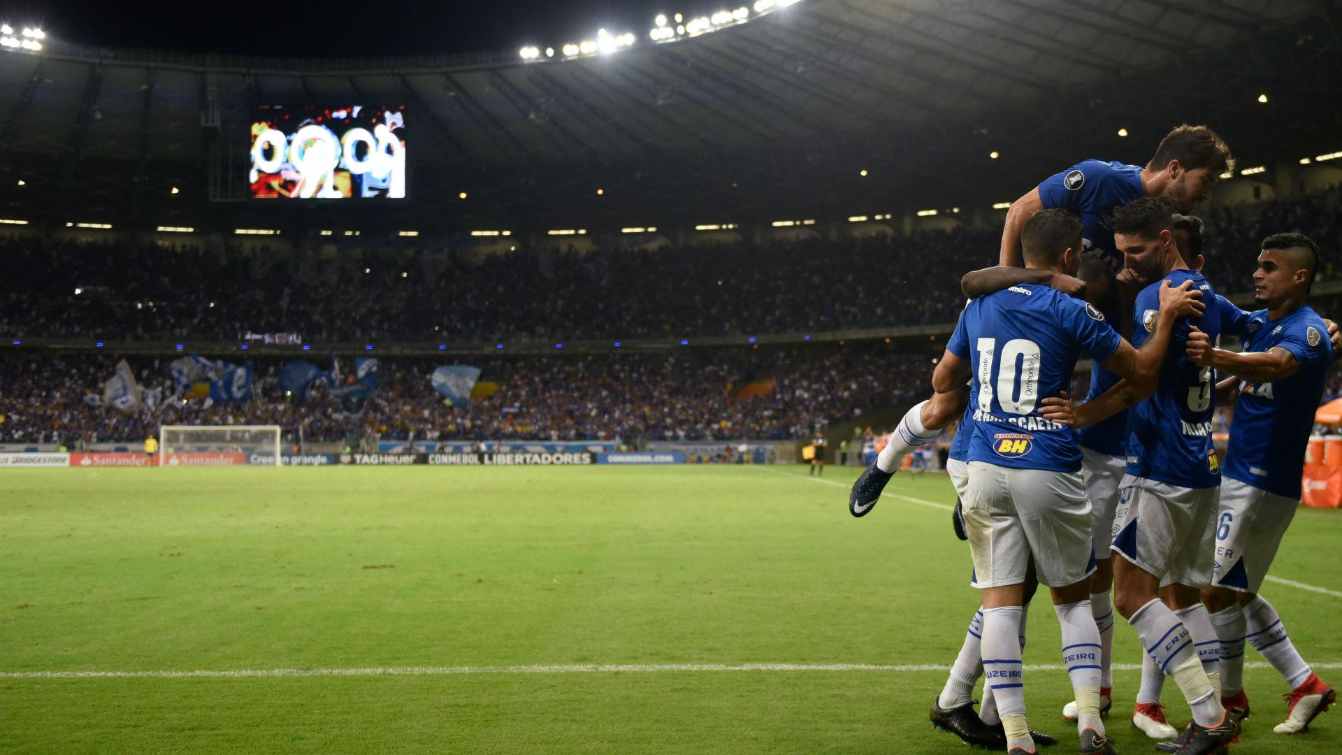 Cruzeiro Universidad Chile Libertadores 26 04 2018