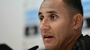 Keylor Navas Real Madrid Supercopa press conference